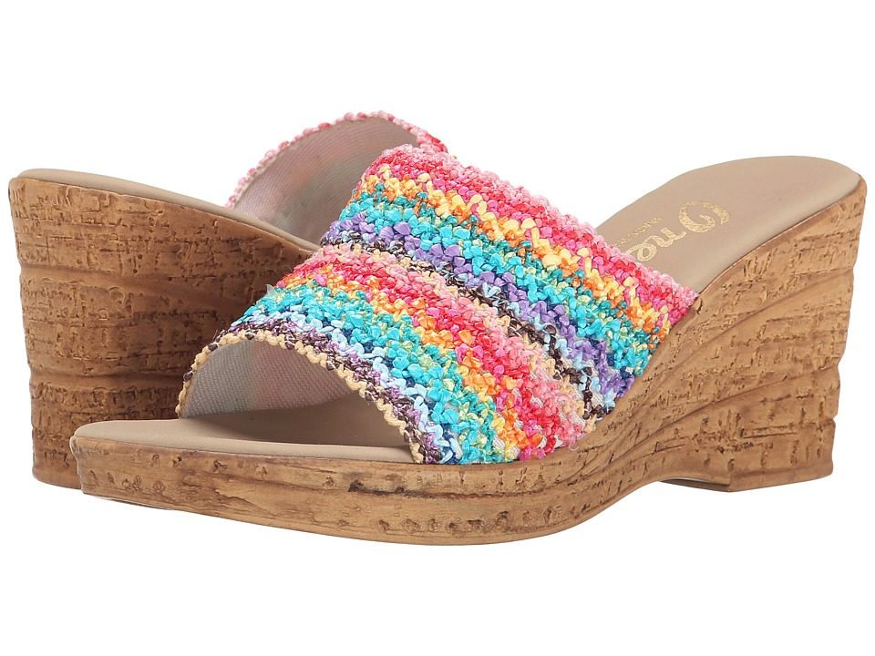 Onex Bianca 2 Brite Multi Womens Wedge Shoes