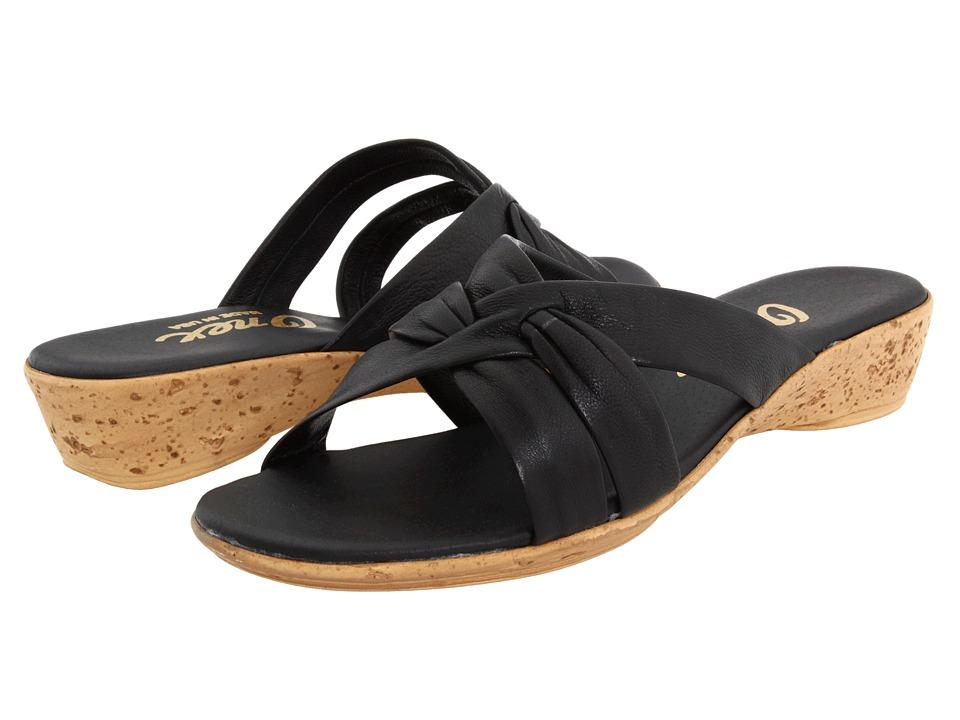 Onex Sail (Black) Wedge Shoes