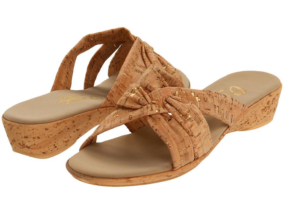 Onex Sail (Cork) Wedge Shoes