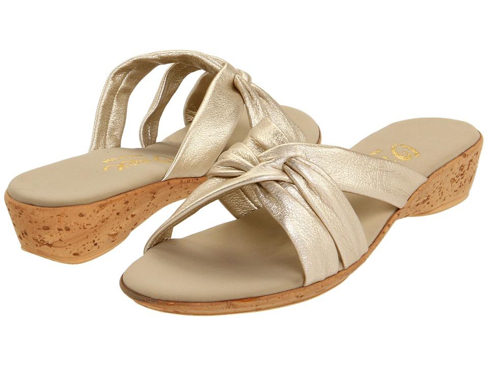 Onex Sail (Platinum) Wedge Shoes