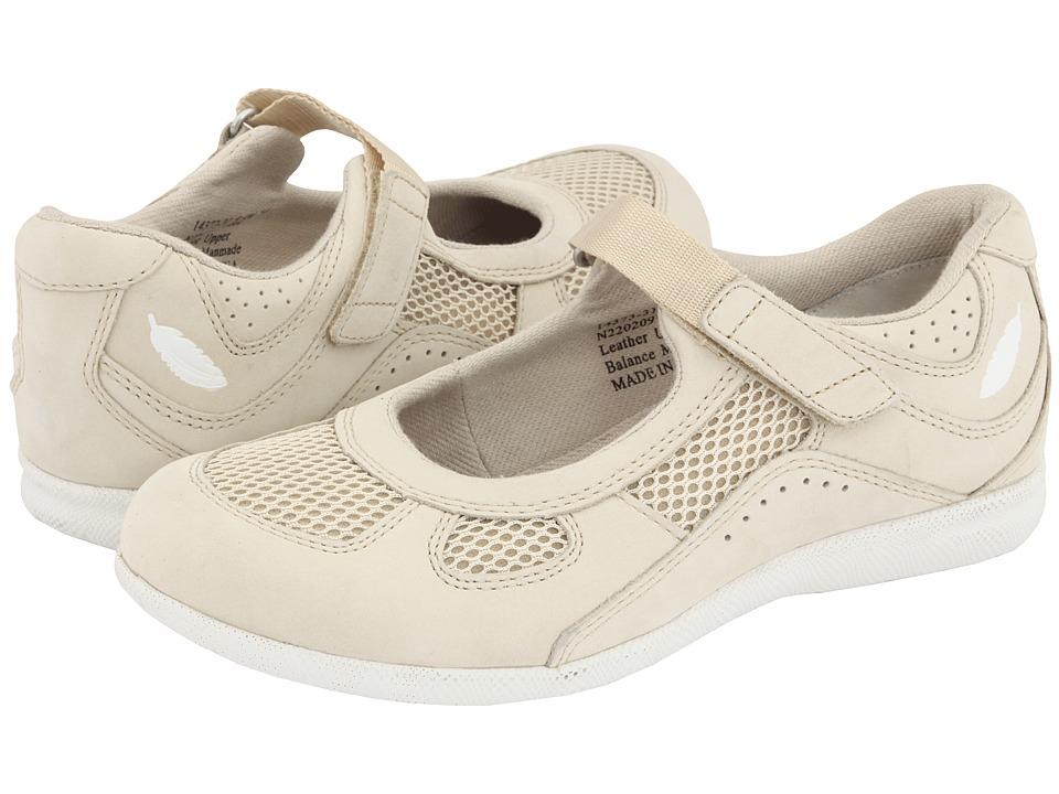 Drew Delite (Bone Nubuck/Bone Mesh) Maryjane Shoes