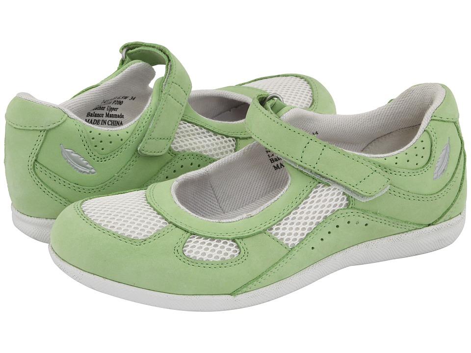 Drew Delite (Green/White Combo) Maryjane Shoes