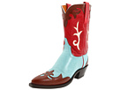 Lucchese - N4513 (Robins Egg Blue/Tristan Red) -