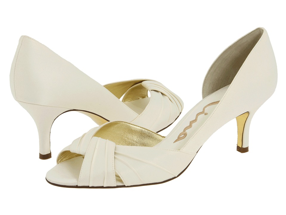 Nina - Culver (Ivory Satin) Women