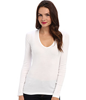 Splendid - 1x1 L/S V-Neck Top