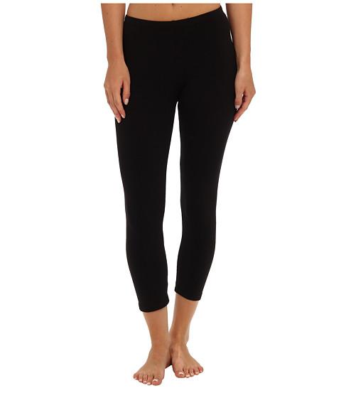Splendid - Modal Crop Leggings (Black) - Apparel