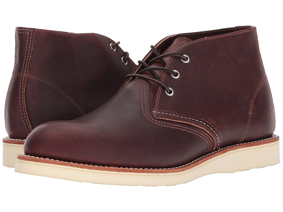 Red Wing Heritage Work Chukka Briar Oil Slick Mens Lace up Boots