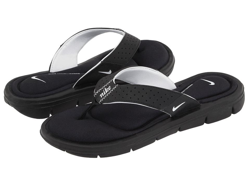 Nike Comfort Thong (Black/White) Sandals