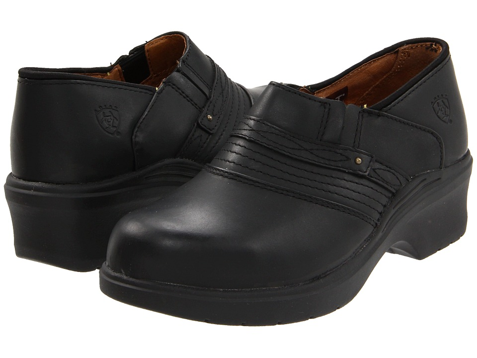 Image of Ariat - Safety Toe Clog (Black) Women's Clog Shoes