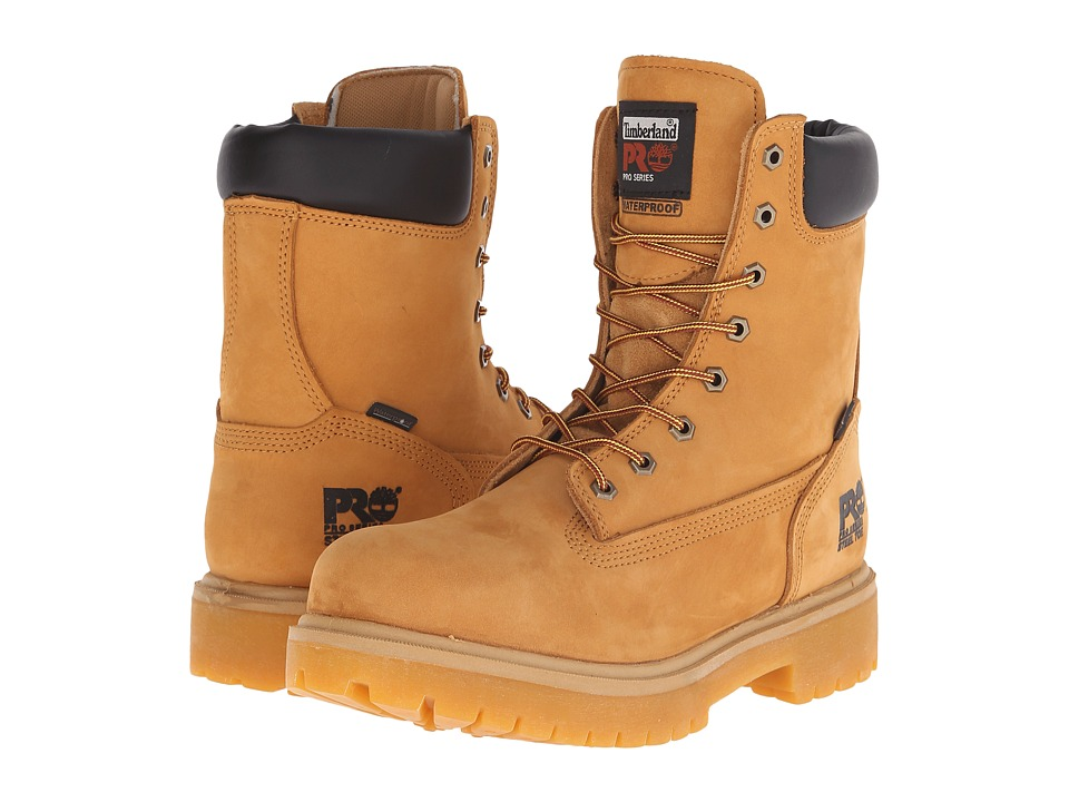 Timberland PRO - Direct Attach 8 Steel Toe (Wheat Nubuck Leather) Men
