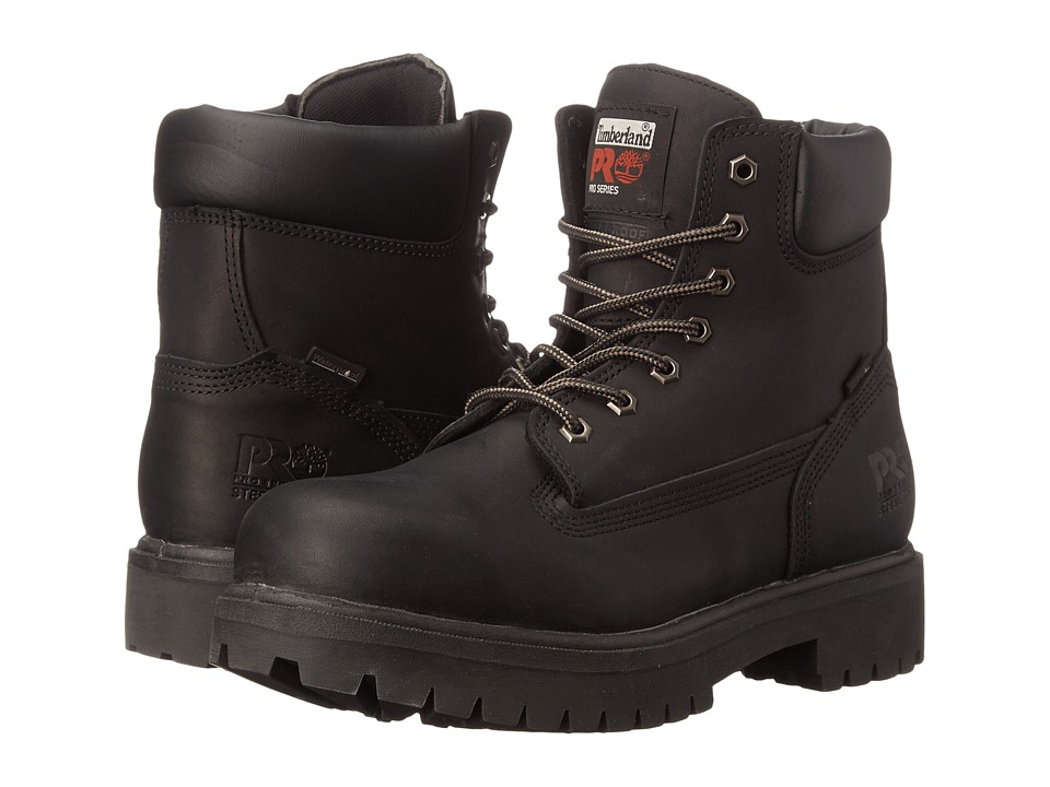 Timberland PRO Direct Attach 6 Steel Toe (After Dark Full-Grain Leather) Men