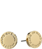 Marc by Marc Jacobs - Logo Disc Studs