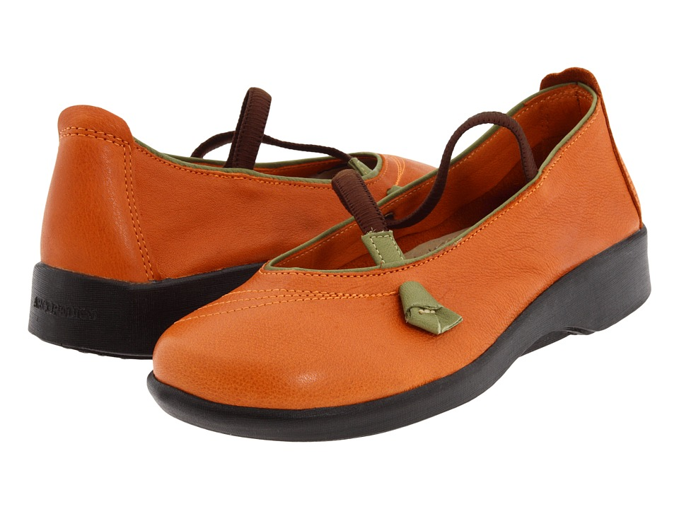 Arcopedico Vitoria (Orange) Maryjane Shoes