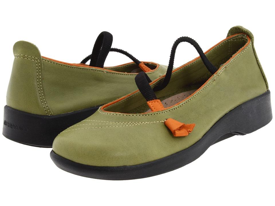 Arcopedico Vitoria (Green) Maryjane Shoes