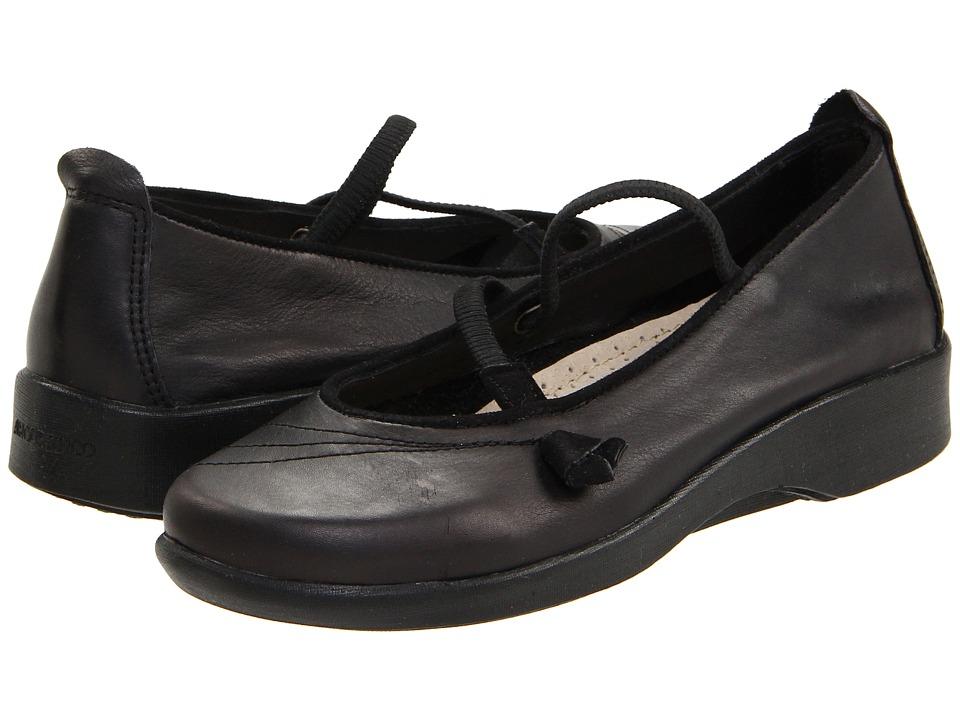 Arcopedico Vitoria (Black/Black Suede) Maryjanes