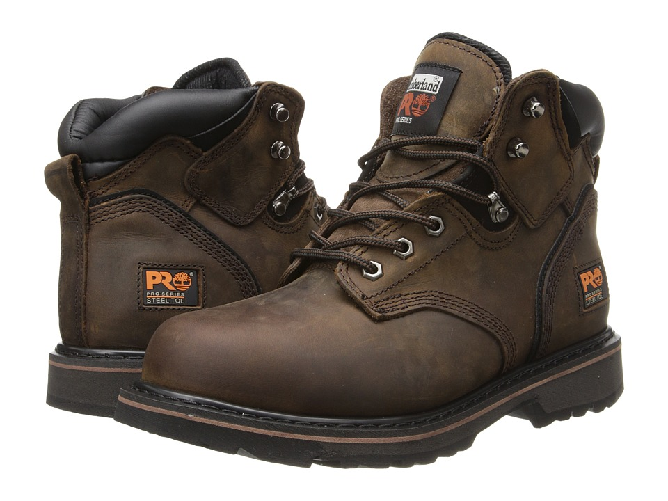 Timberland PRO - 6 Pit Boss Steel Toe (Gaucho Oiled Full-Grain Leather) Men