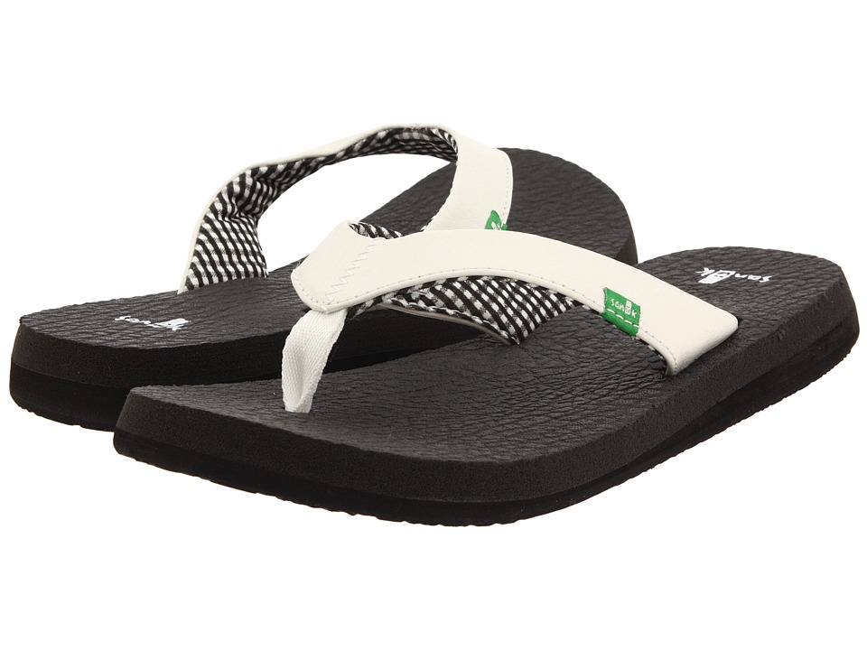 Sanuk Yoga Mat White Womens Sandals