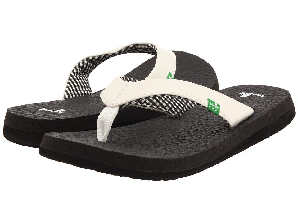Sanuk Yoga Mat (White) Sandals