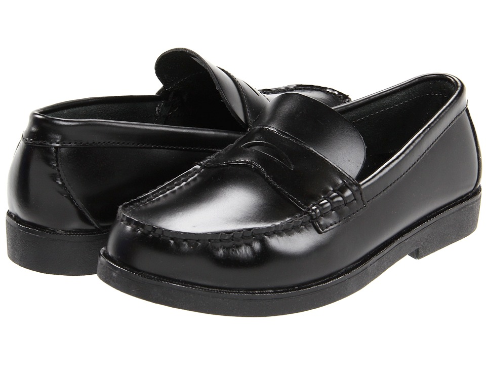 Sperry Kids Colton Big Kid Black Brush Off Boys Shoes
