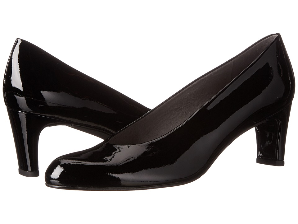 Stuart Weitzman Chicpump (Black Soft Patent) High Heels