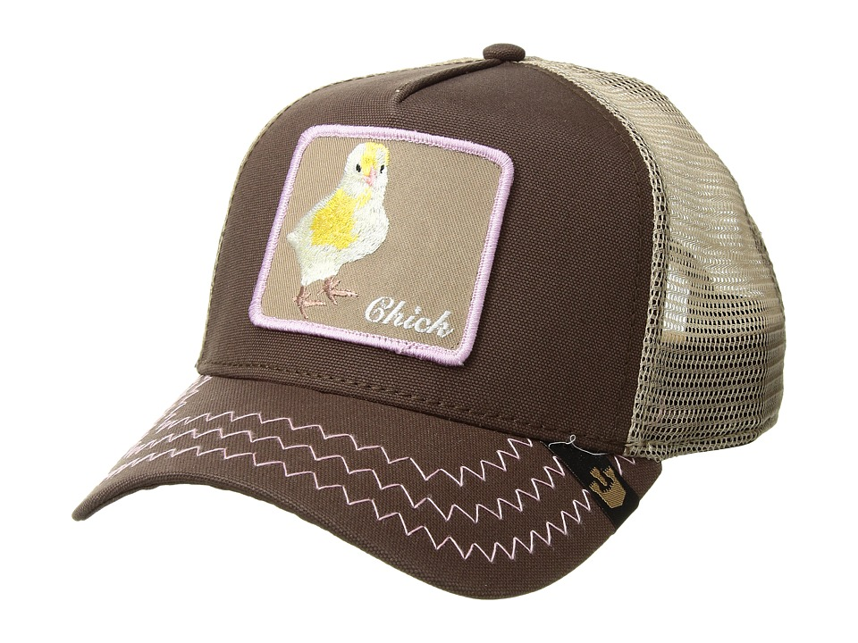 Goorin Brothers Animal Farm Chicky Boom Brown Baseball Caps