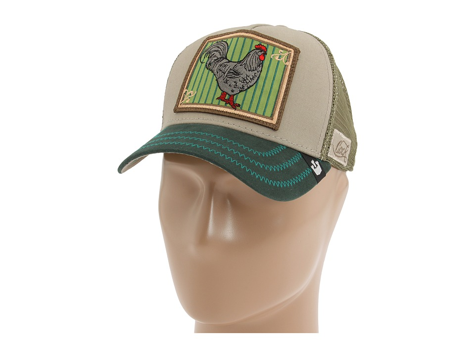 Goorin Brothers Animal Farm Pecker Khaki Baseball Caps
