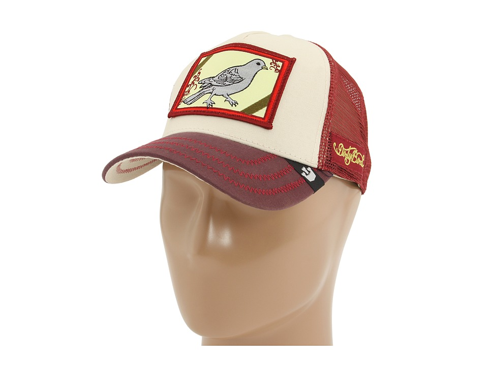 Goorin Brothers Animal Farm Dirty Bird Maroon Baseball Caps