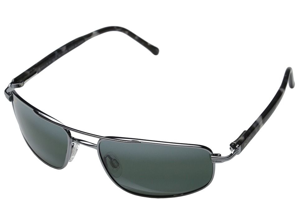 Maui Jim - Kahuna (Gunmetal/Neutral Grey Lens) Sport Sunglasses