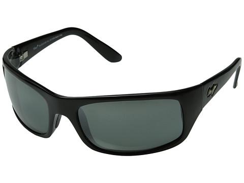 Maui Jim Peahi - Gloss Black/Neutral Grey Lens