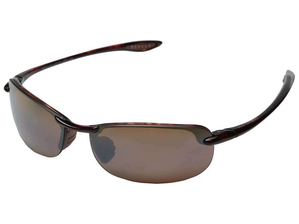 Maui Jim Makaha (Tortoise/HCL Bronze Lens) Sport Sunglasses