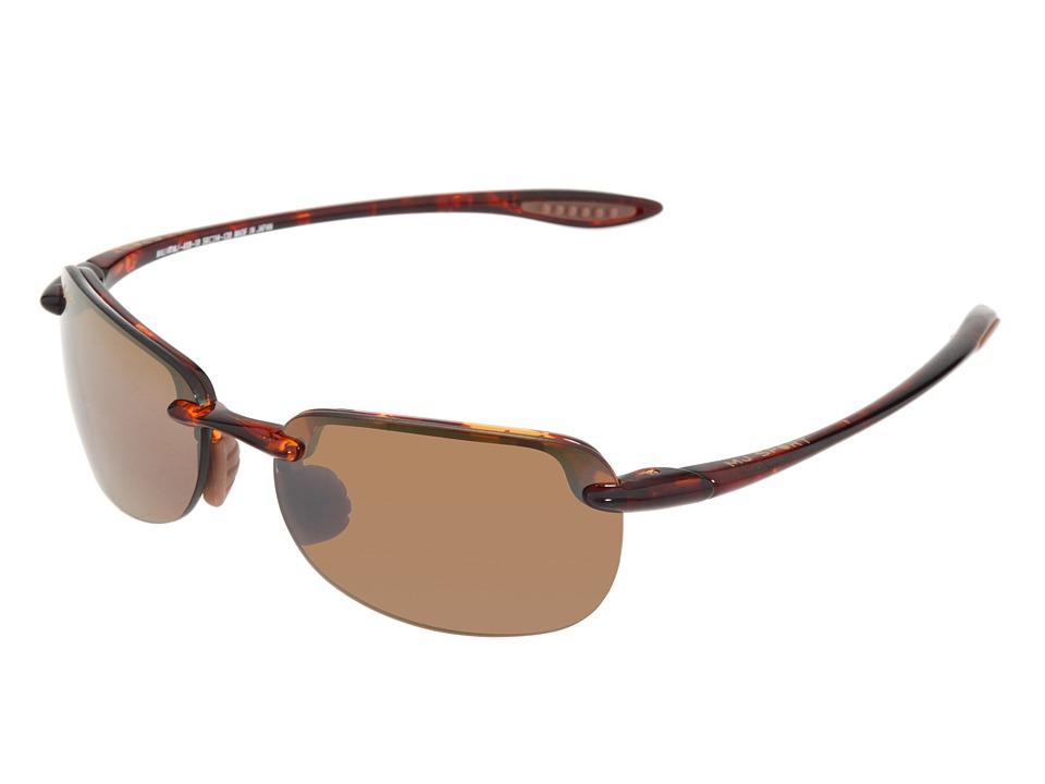 Maui Jim - Sandy Beach (Tortoise/HCL Bronze Lens) Sport Sunglasses