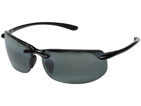 Maui Jim Banyans - Gloss Black/Neutral Grey Lens