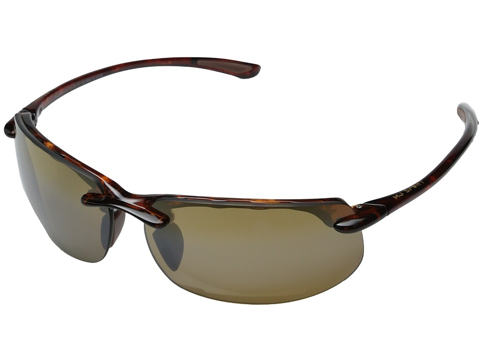Maui Jim Banyans Tortoise/HCL Bronze Lens Sport Sunglasses
