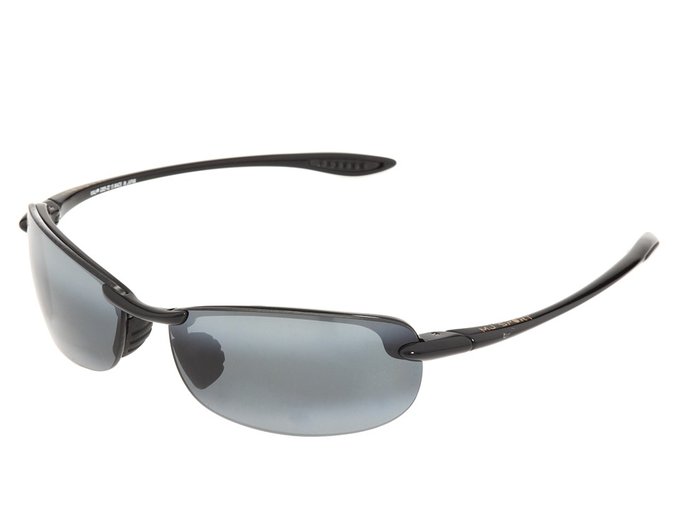 Maui Jim Makaha Readers (Gloss Black/Neutral Grey Lens/1.5 Lens) Reading Glasses Sunglasses