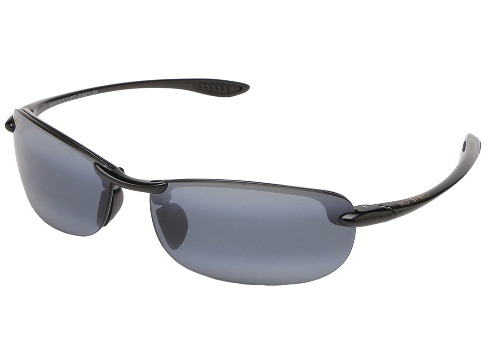 Maui Jim - Makaha Readers (Gloss Black/Neutral Grey Lens/2.0 Lens) Reading Glasses Sunglasses