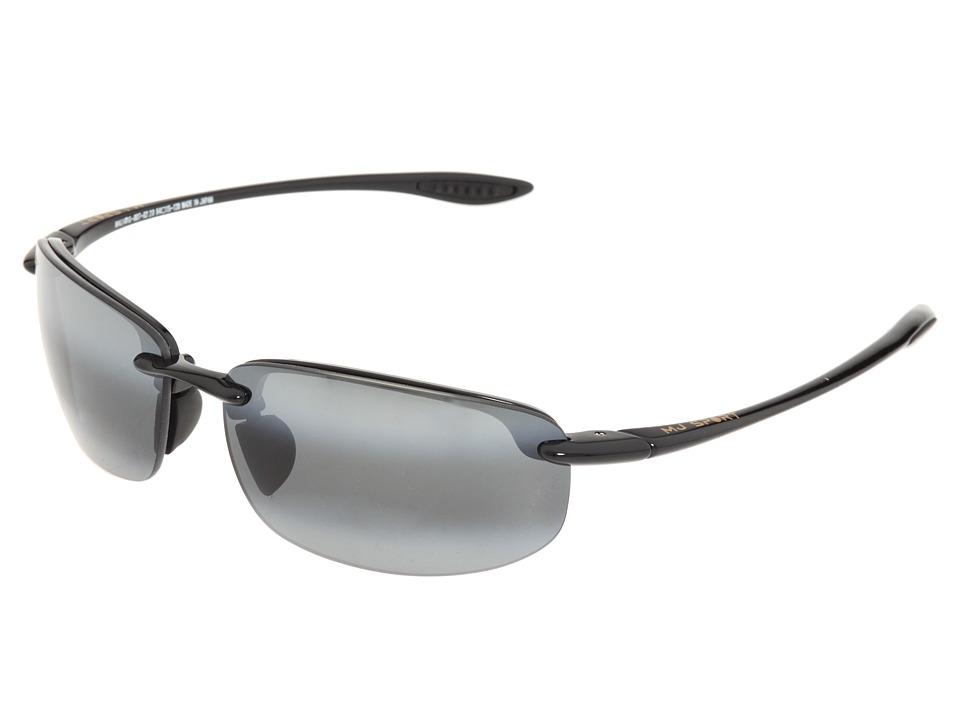 Maui Jim - Hookipa Readers 2.0 (Gloss Black/Neutral Grey Lens/2.0 Lens) Reading Glasses Sunglasses