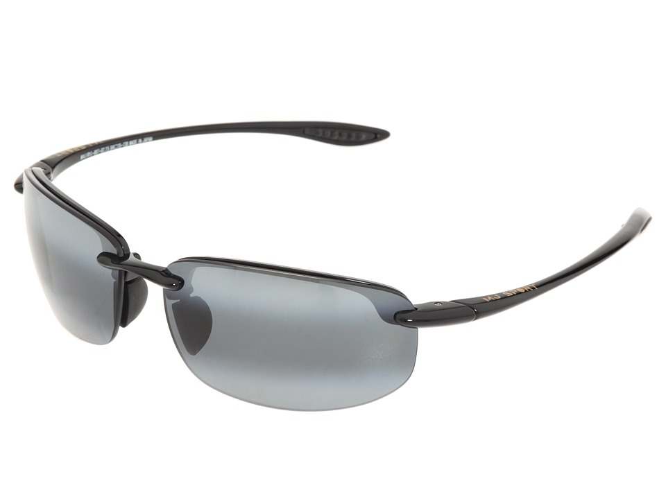Maui Jim - Hookipa Readers 2.5 (Gloss Black/Neutral Grey Lens/2.5 Lens) Reading Glasses Sunglasses