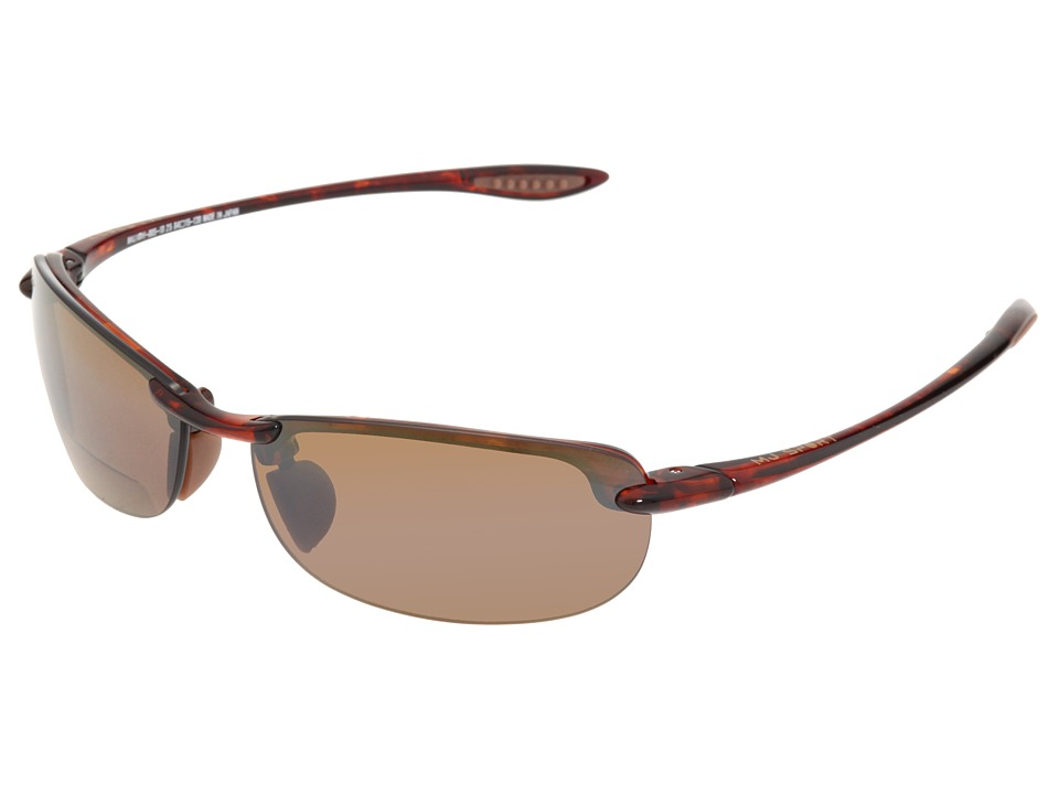 Maui Jim Makaha Readers (Tortoise/HCL Bronze Lens/2.5 Lens) Reading Glasses Sunglasses