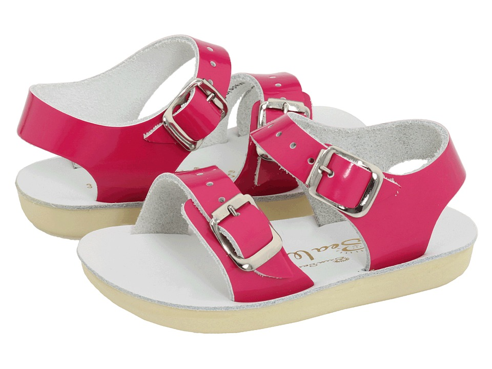 Salt Water Sandal by Hoy Shoes Sun San Sea Wees Infant/Toddler Shiny Fuchsia Girls Shoes