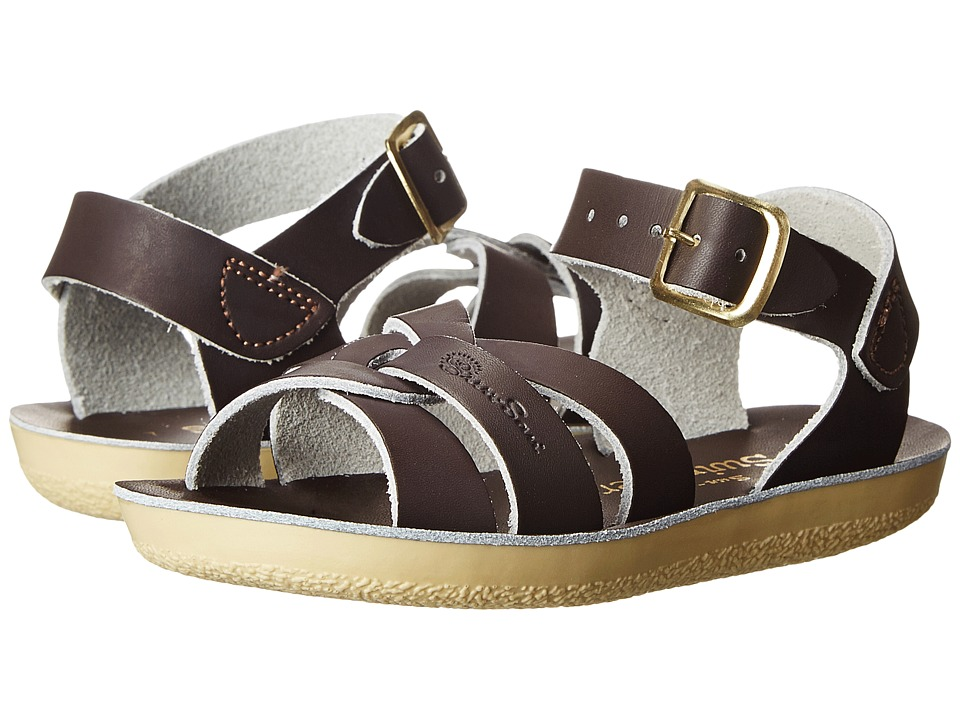 Salt Water Sandal by Hoy Shoes - Sun-San - Swimmer (Toddler/Little Kid) (Brown) Kids Shoes