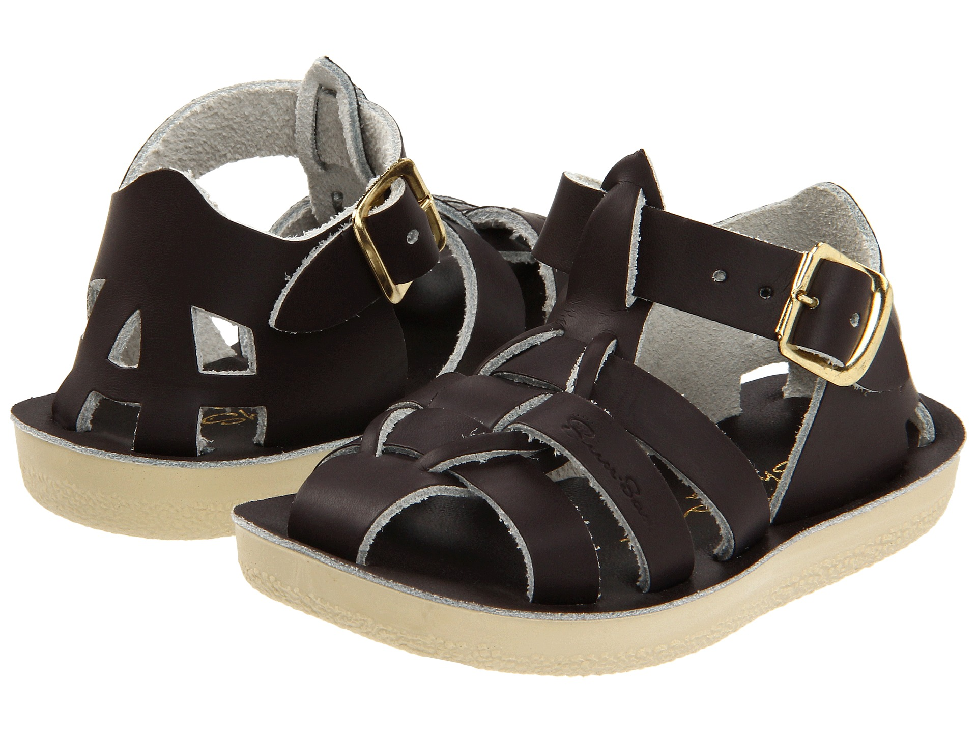 salt water sandal by hoy shoes sun san sharks toddler little kid at. Black Bedroom Furniture Sets. Home Design Ideas