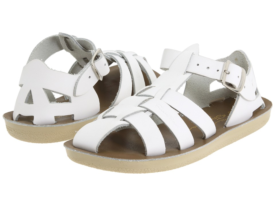 Salt Water Sandal by Hoy Shoes Sun San Sharks Toddler/Little Kid White Kids Shoes