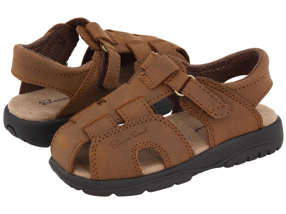 Salt Water Sandal by Hoy Shoes - Sun-San - Shark II (Toddler/Little Kid) (Brown) Boys Shoes