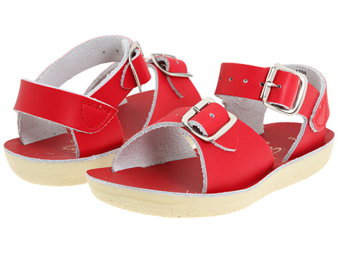 Salt Water Sandal by Hoy Shoes Sun-San - Surfer (Toddler/Little Kid) - Red