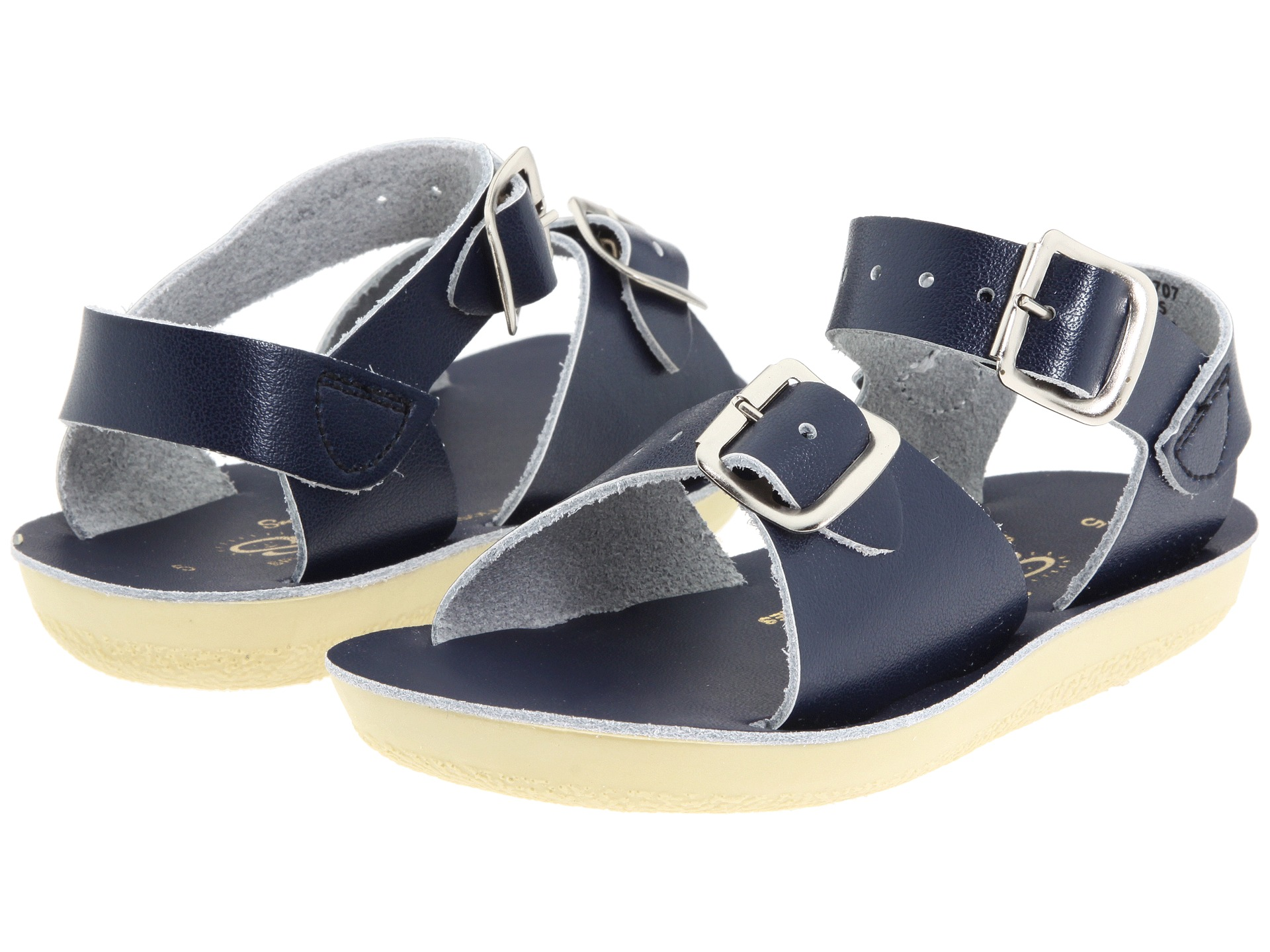 salt water sandal by hoy shoes sun san surfer toddler little kid blue navy free. Black Bedroom Furniture Sets. Home Design Ideas
