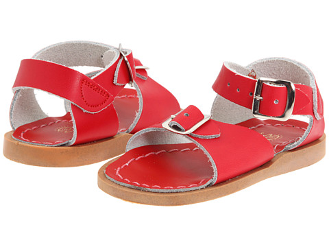Salt Water Sandal by Hoy Shoes Surfer (Toddler/Little Kid) - Red
