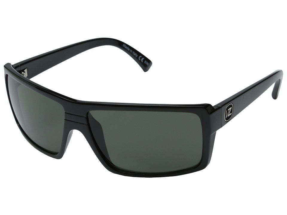 VonZipper Snark (Black/Grey) Plastic Frame Sport Sunglasses