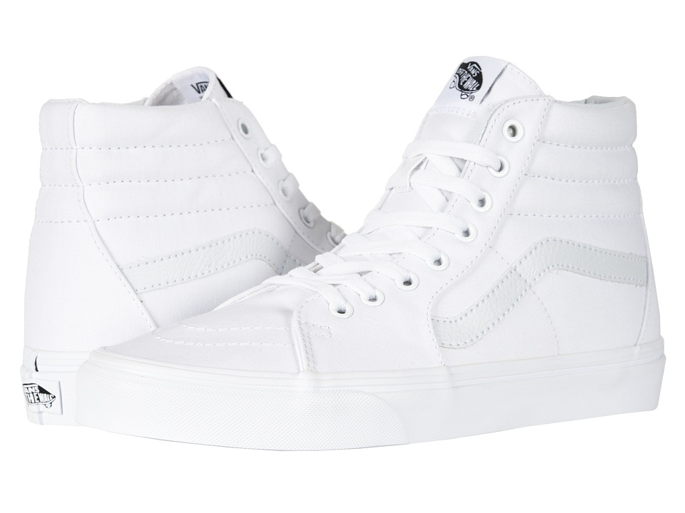 Vans SK8-Hi Core Classics (True White) Shoes