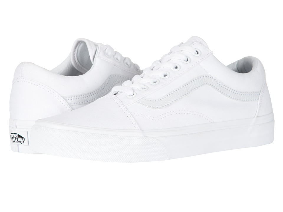Vans Old Skool Core Classics (True White) Shoes