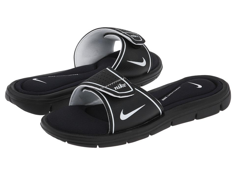 Nike Comfort Slide (Black/White) Sandals